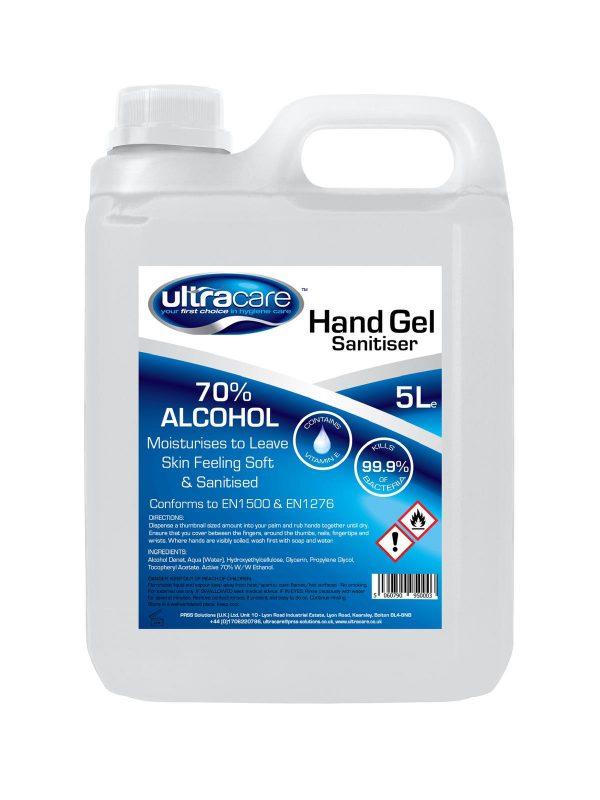 Ultracare alcohol hand sanitiser