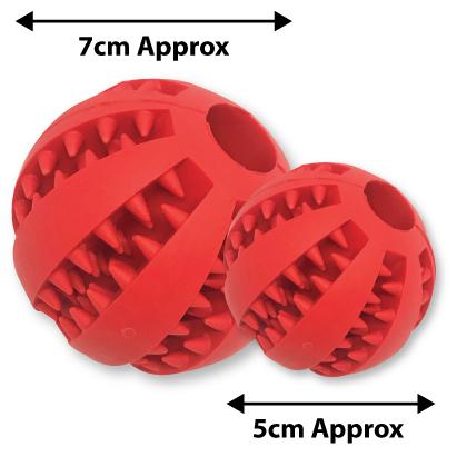 ball size comparison