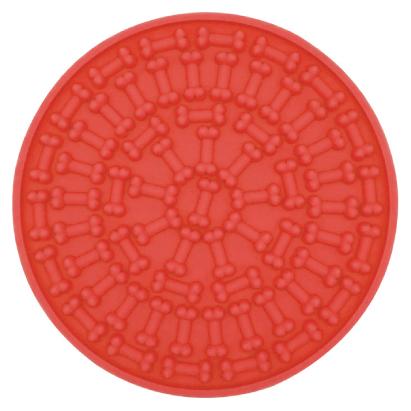 Red lick mat