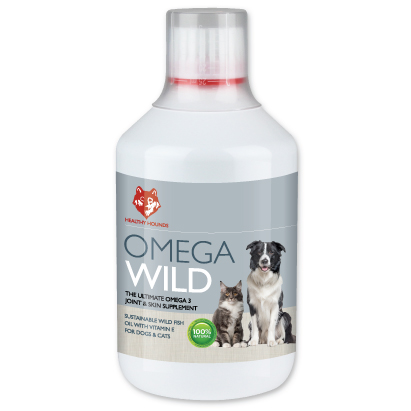 omega 3 fish oil for dogs, cats & pets