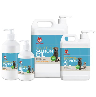 Salmon Oil for Dogs, Cats, Pets